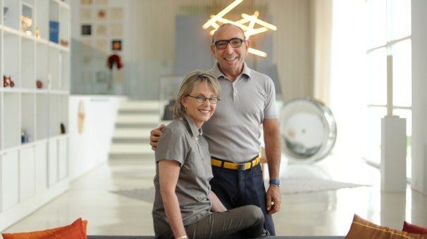 Daniel & Mirella Levinas. (Photo Astrid Riecken)