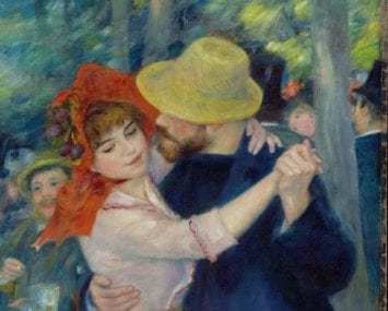 Renoir, Dance at Bougival, 1883