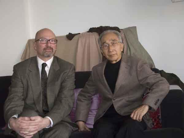 Jason Edward Kaufman with Jin Shangyi, Beijing, March 24, 2011.