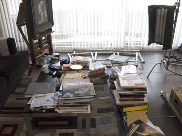 Jin Shangyi studio, Beijing (Photo by Jason Edward Kaufman (c) 2011)