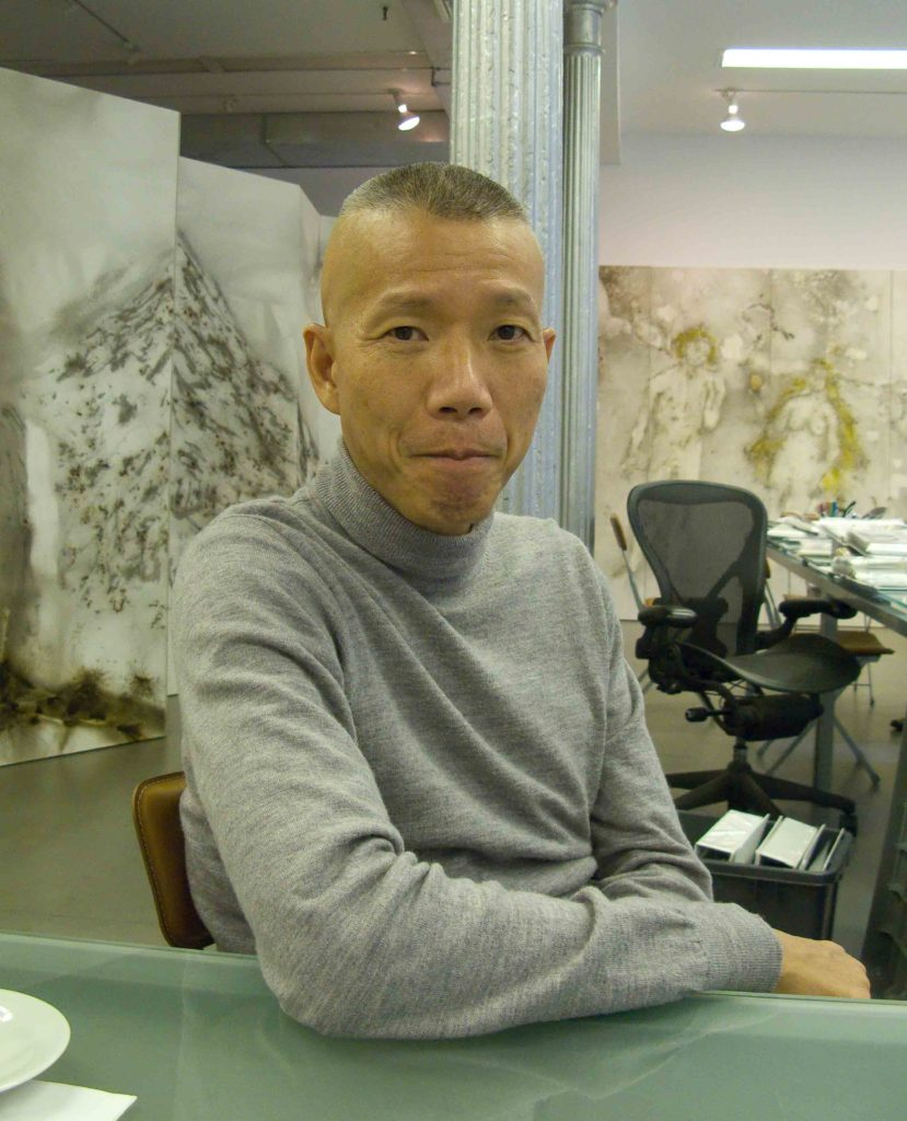 Cai Guo Qiang in his East Village studio, New York - Photo by Jason Edward Kaufman © 2018.jpg