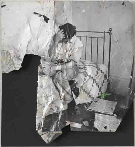 John Deakin, photograph of Lucian Freud, ca. 1964