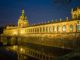 Zinger at night, Dresden - Photo by Jason Edward Kaufman © 2020