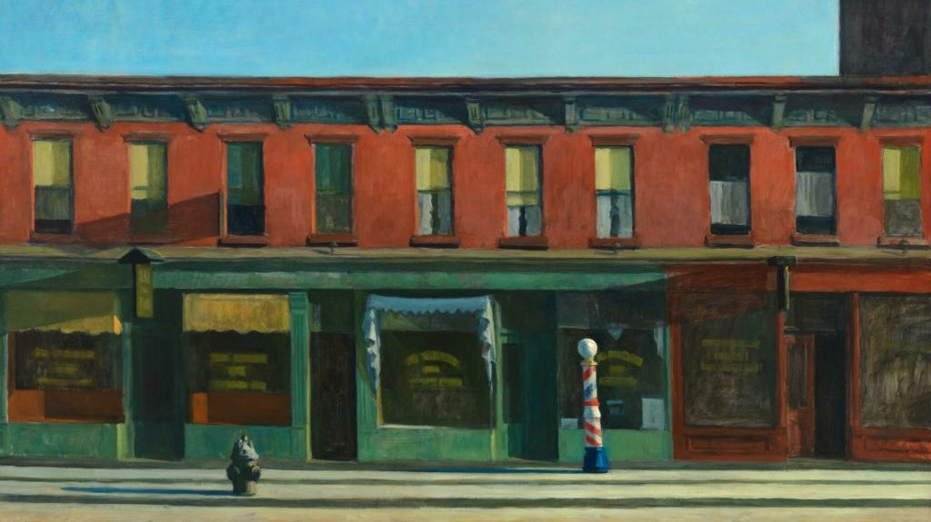 Edward Hopper, Early Sunday Morning, 1930, Whitney Museum.