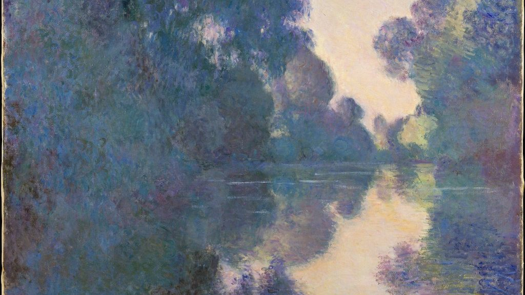Claude Monet, Morning on the Seine near Giverny, 1897, The Metropolitan Museum of Art